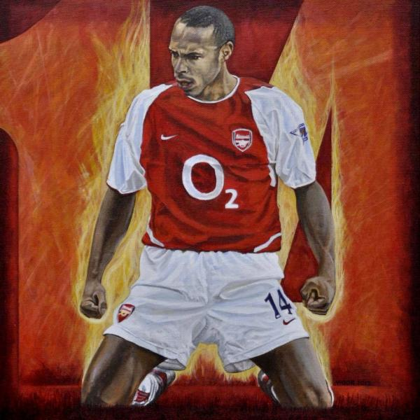 Thierry Henry by DavidVigor